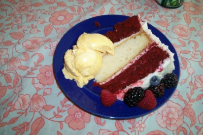 red white and blue ice red white and blue cake ideas the glorious red ...